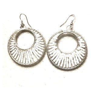 Jewelry - Flirty White Bead Earrings